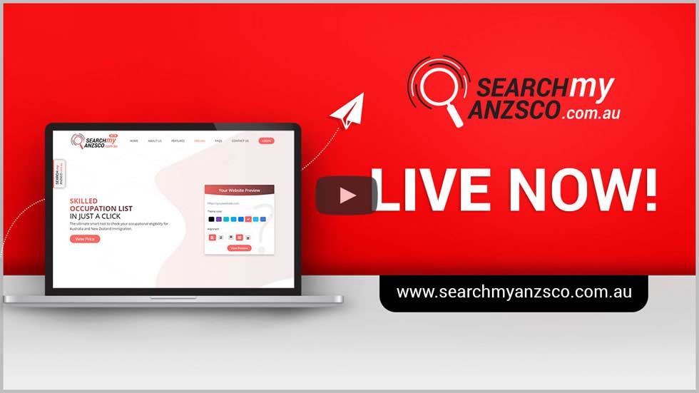 Features of SearchMyANZSCO